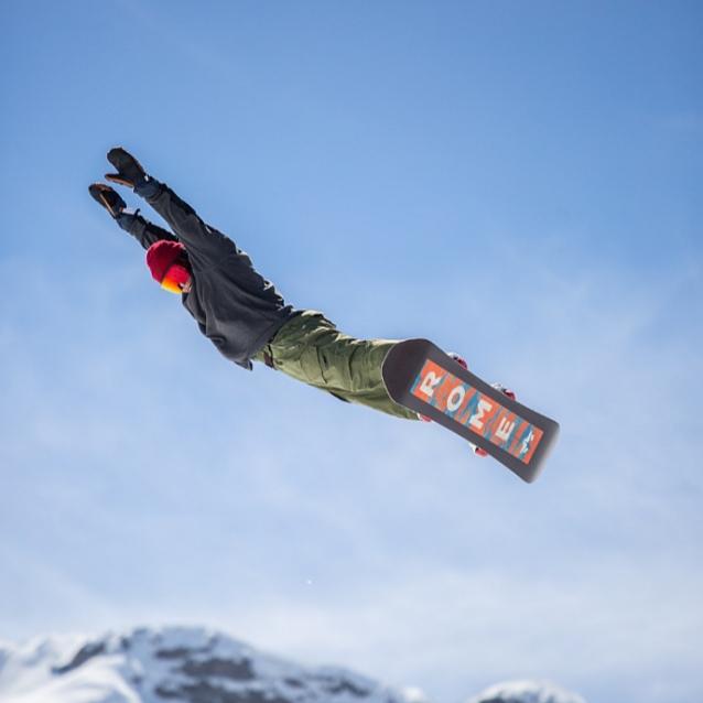 スノーボードは楽しみがいっぱい