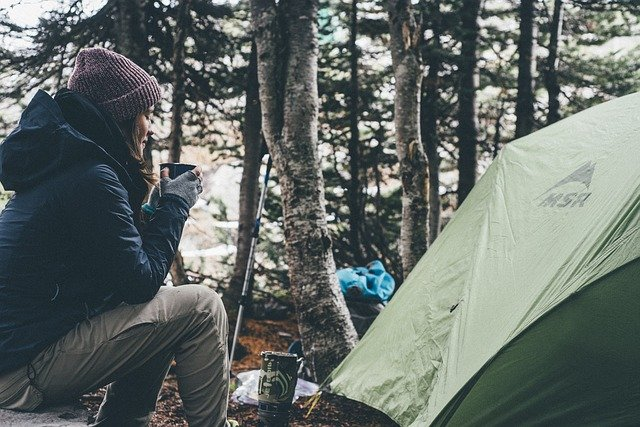 キャンプは自然に癒される