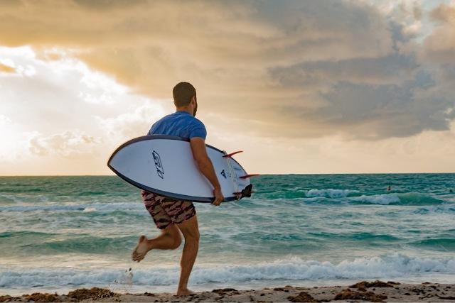 サーフィンショートボード