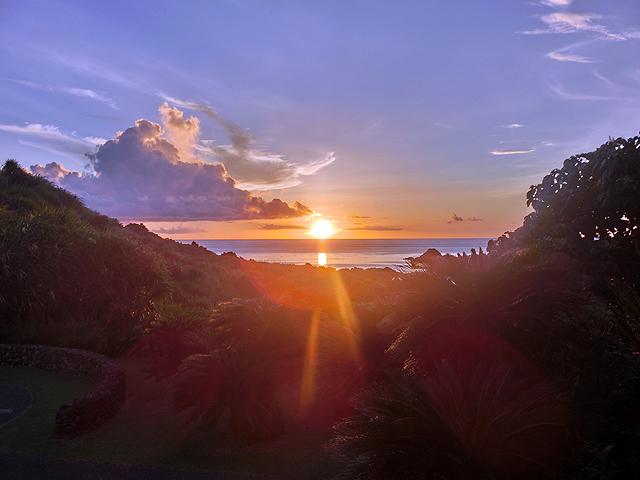 日の出 石垣島 クラブメッド 絶景